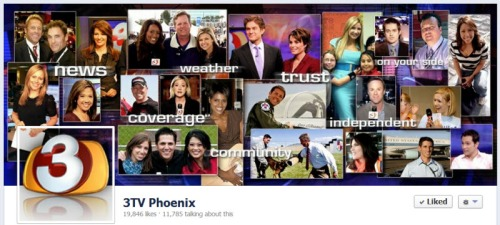 3TV Phoenix Facebook Engagement Rate