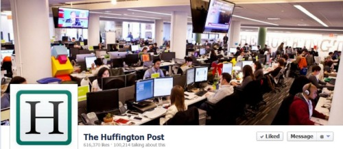 Huffington Post Facebook Engagement Rate
