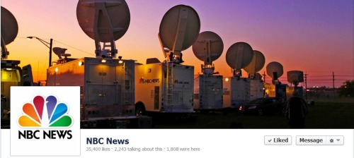 NBC News Facebook Engagement Rate