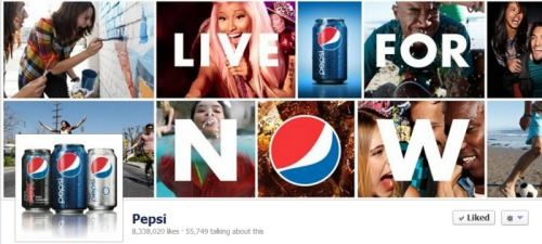 Pepsi Facebook Engagement Rate